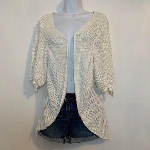 Plus size cardigan sweater by Lane Bryant. 14 / 16